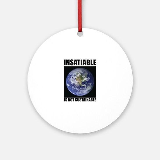 Insatiable Ornament (Round)