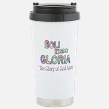Soli Deo Gloria Travel Mug