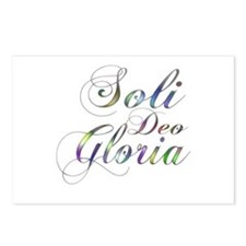 Soli Deo Gloria Postcards (Package of 8)