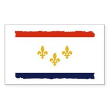 City of New Orleans Flag Decal