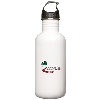 North Carolina Rail-Trails Stainless Water Bottle