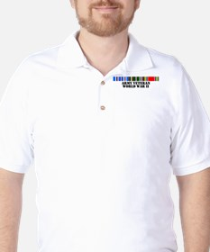 WWII Army Veteran Golf Shirt
