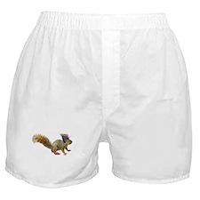 Dress-up Squirrel Boxer Shorts