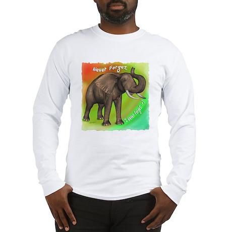 Elephant Never Forget Long Sleeve T-Shirt