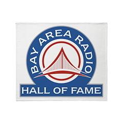 Bay Area Radio Hall of Fame Throw Blanket