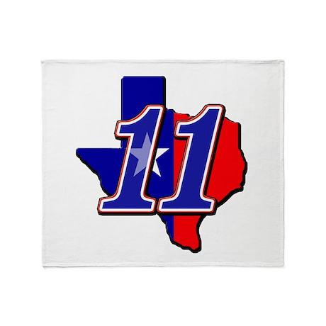 bs11flag Throw Blanket