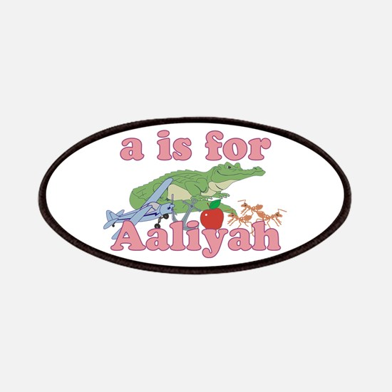 A is for Aaliyah Patches