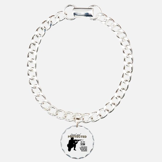 Cute Soldier Charm Bracelet, One Charm