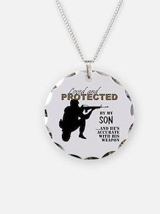Unique Military love Necklace