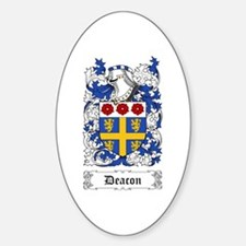Deacon Sticker (Oval)