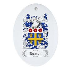 Deacon Ornament (Oval)
