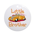 Little Brother (Car) Ornament (Round)