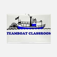 Steamboat Rectangle Magnet