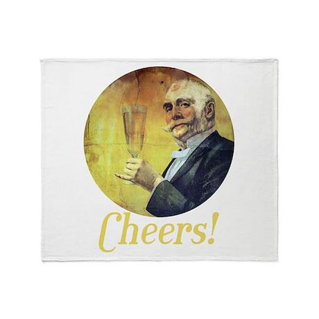 Cheers! Throw Blanket