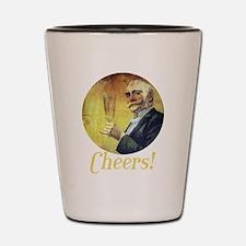 Cheers! Shot Glass