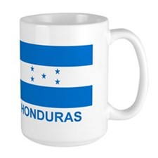 Honduran Flag (labeled) Mug