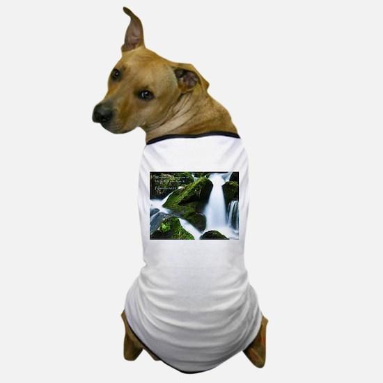 Proverbs 16:22 Dog T-Shirt