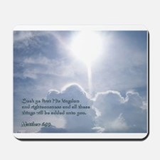 Matthew 6:33 Mousepad