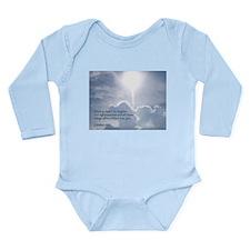 Matthew 6:33 Long Sleeve Infant Bodysuit