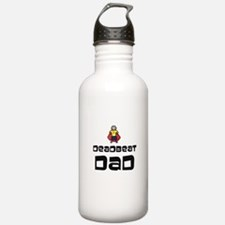 Funny Fathers Day Water Bottle