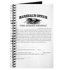 Yuma Marshal's Office Journal