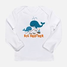 Big Brother - Mod Whale Long Sleeve Infant T-Shirt