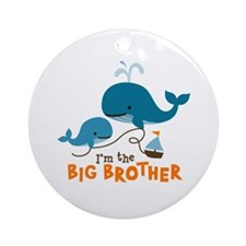 Big Brother - Mod Whale Ornament (Round)