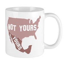 Yours, Not Yours Small Mug