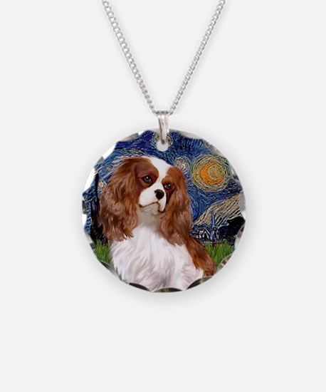 Starry / Cavalier (BL2) Necklace Circle Charm