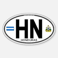 Honduras Euro Oval (HN) Decal