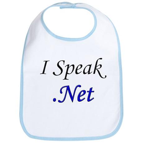 """""""I Speak .Net"""" Bib"""