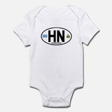 Honduras Euro Oval (HN) Infant Bodysuit