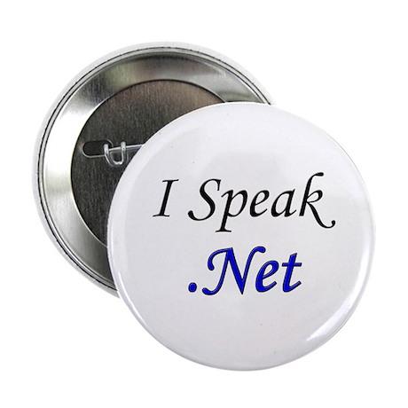"""I Speak .Net"" 2.25"" Button (100 pack)"