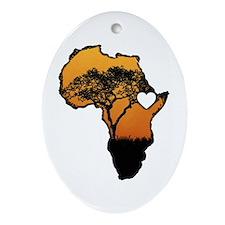 Ethiopia - Ornament (Oval)