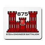 875th Engineer Battalion - Army Mousepad