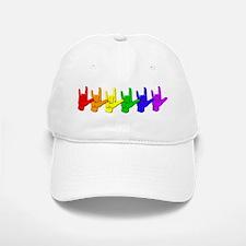 I love you - colorful Baseball Baseball Cap