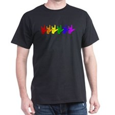 I love you - colorful T-Shirt