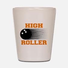 High Roller Bowling Shot Glass