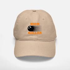 High Roller Bowling Baseball Baseball Cap