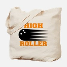High Roller Bowling Tote Bag