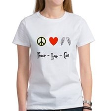 Peace - Love - Cas Tee