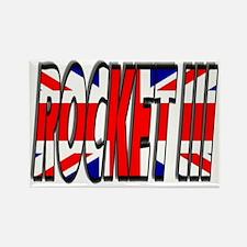 Rocket III Rectangle Magnet