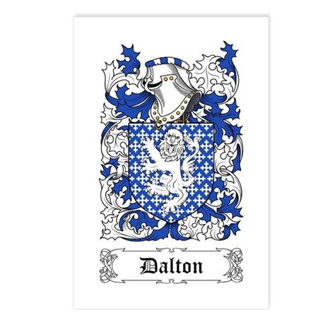 Dalton Postcards (Package of 8)