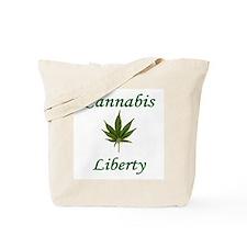 Cannabis Liberty ~ Tote Bag