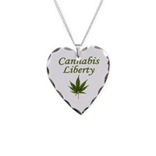 Cannabis Liberty ~ Necklace
