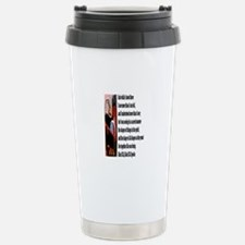 I saw Stainless Steel Travel Mug