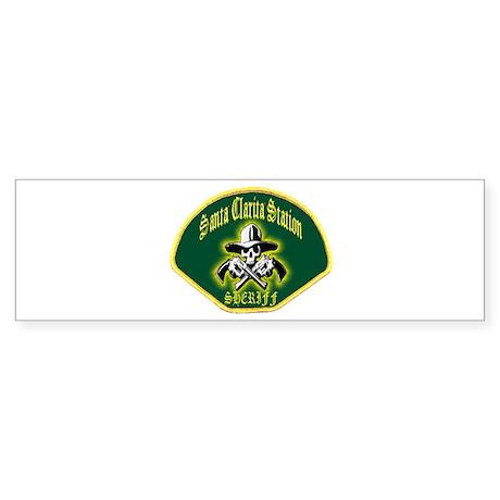 Santa Clarita Sheriff Sticker (Bumper)