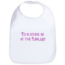 I'd rather be at the Library Bib