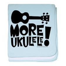 More Ukulele! baby blanket