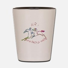HRJ - Horse Racing Junkie Shot Glass